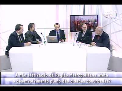 Conversas Cruzadas - Região Metropolitana de Florianópolis - 4º bloco – 26/09/2013