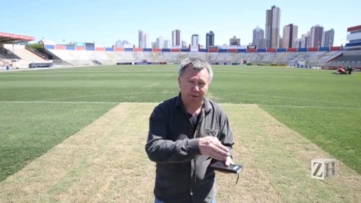 Uma visita ao palco da decisão entre Atlético-PR e Grêmio