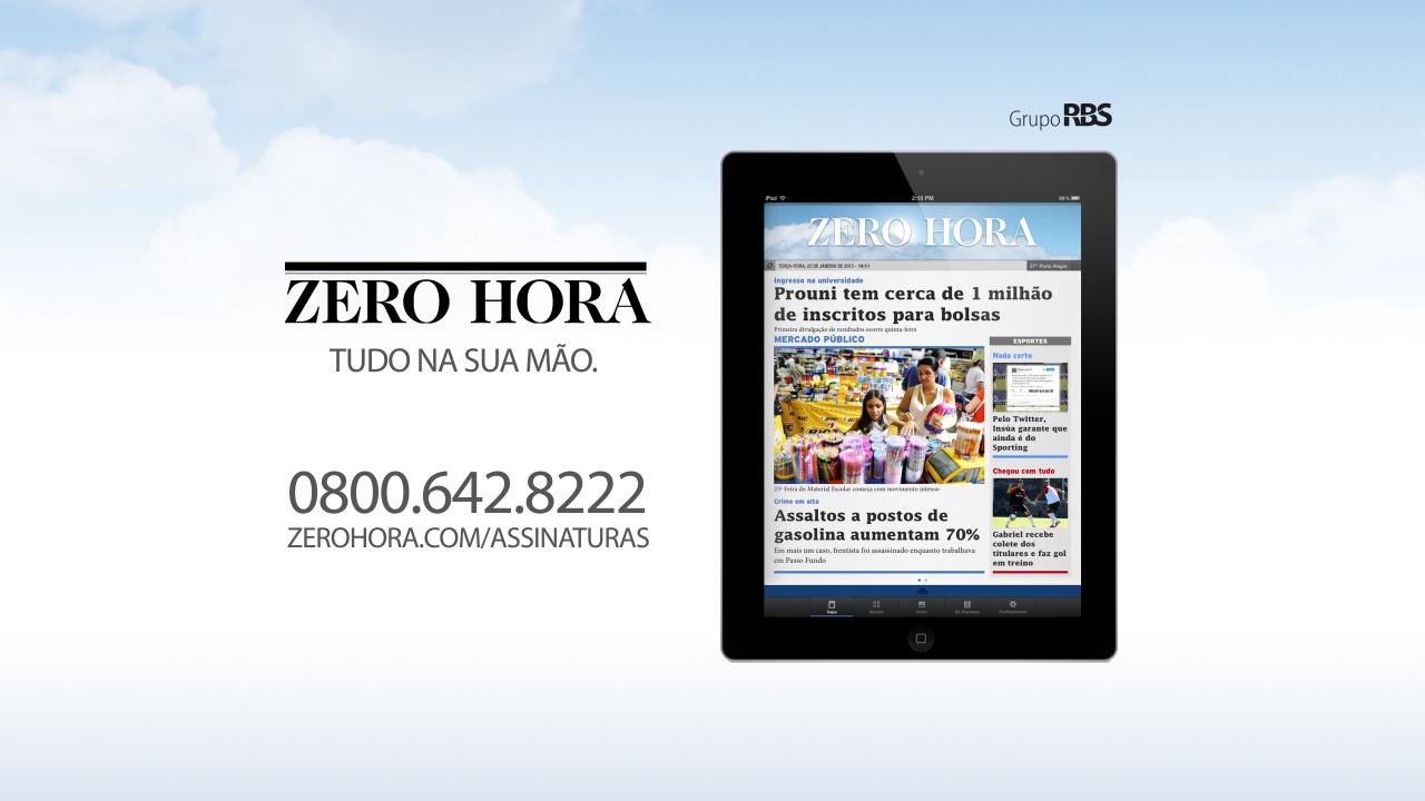 Leia na Zero Hora desta quarta-feira (22/01/2014)