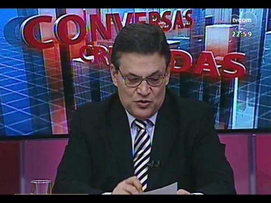 Conversas Cruzadas - Debate sobre a legislação eleitoral que impede a pré-campanha - Bloco 3 - 14/04/2014