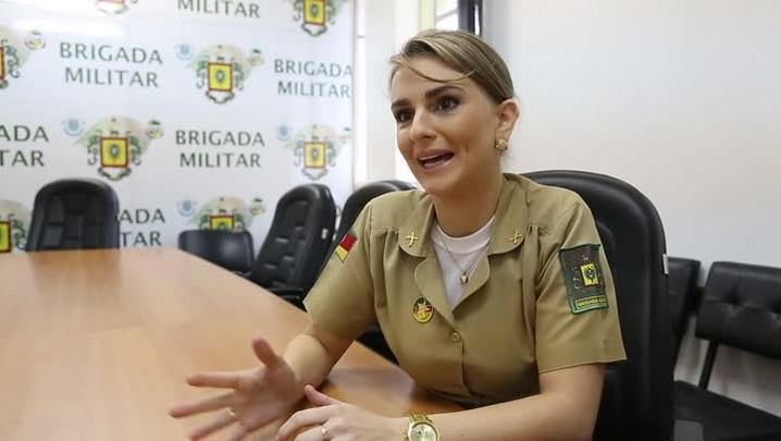 Ex-princesa da Oktoberfest, a policial militar Joana Frantz conta o que mudou pós-reinado