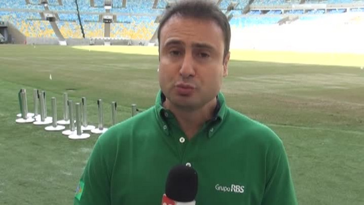 Maracanã recebe últimos ajustes antes da Copa - 26/5