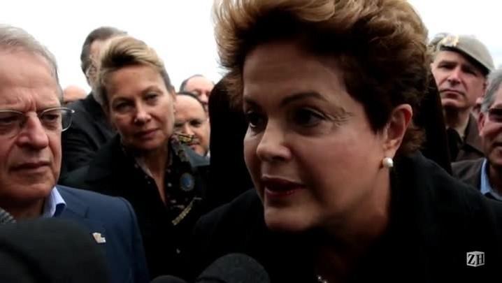 Dilma comenta morte de Fernandão