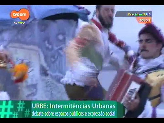 #PortoA - Saiba como foi a performance dos Corsários Inversos no Morro Santa Tereza