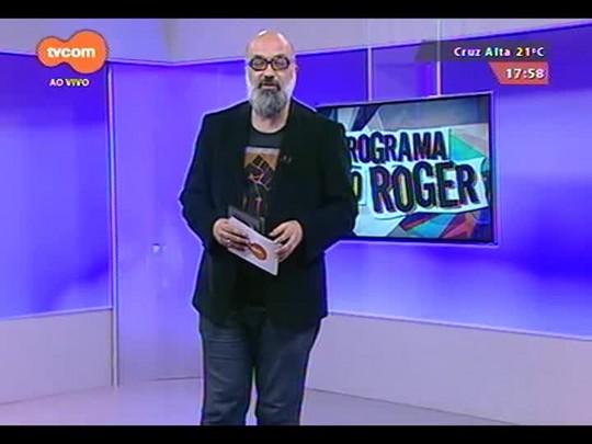 Programa do Roger - Lojinha do Roger + Arlindo Neto + Clipe O Rappa - Bloco 2 - 01/10/2014