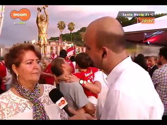 TVCOM 20 Horas - O lançamento oficial da estátua do Fernandão - Parte 2 - 17/12/2014