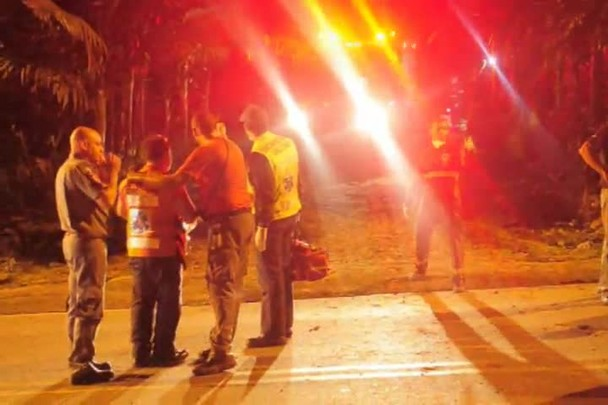 Acidente na Serra Dona Francisca