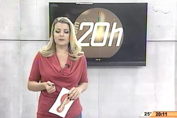 TVCOM 20 Horas - De acordo com a prefeitura de São José, o aumento na tarifa dos ônibus foi necessária para atualizar valores praticados, já que desde 2010 não houve reajuste - 01.05.15