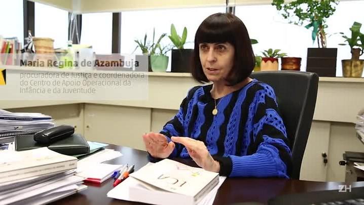 Rede de proteção: Maria Regina Fay de Azambuja, procuradora de Justiça