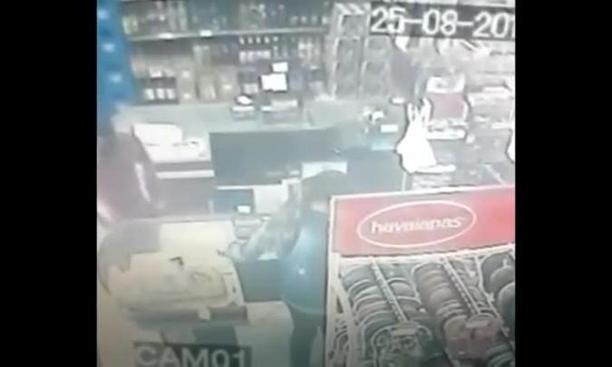 Mercado é assaltado no bairro Boi Morto, em Santa Maria