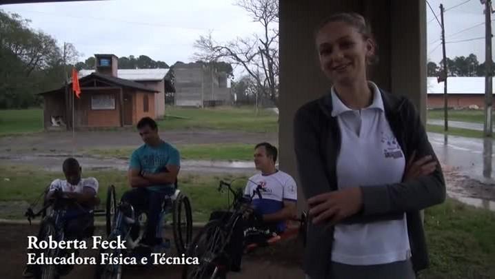 Cadeirantes de Santa Maria participam do dia do desafio