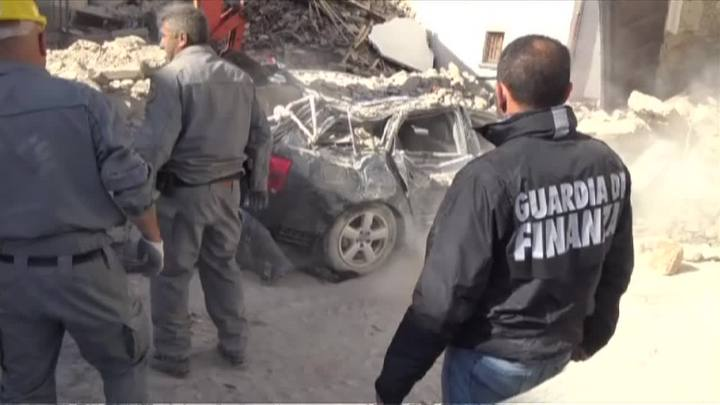 Mortos e desaparecidos após terremoto na Itália