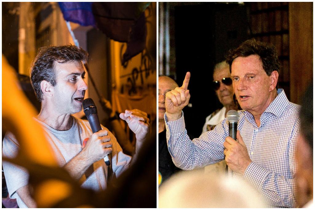 Crivella x Freixo: dois extremos se enfrentam no Rio