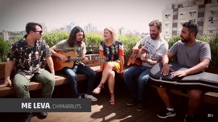 """Chimarruts apresenta a nova \""""Me leva\"""""""