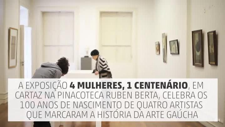 """Curadores comentam a exposição \""""4 Mulheres, 1 Centenário\"""""""