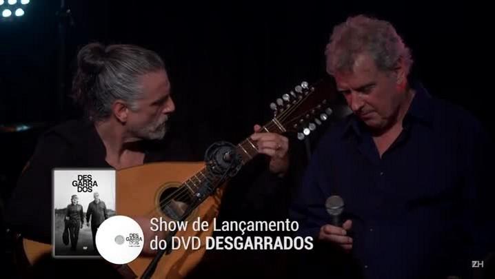 "Chico Saratt e Mario Barbará apresentam espetáculo ""Desgarrados"""