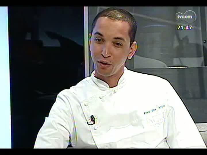 TVCOM Tudo Mais - Chef do Restaurante Marcos, Fred dos Anjos
