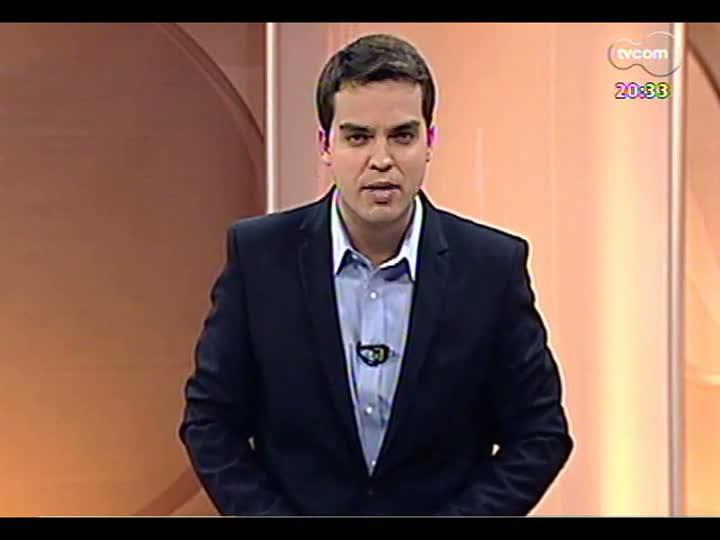 TVCOM 20 Horas - 22/01/2013 - Bloco 3 - Encerramento