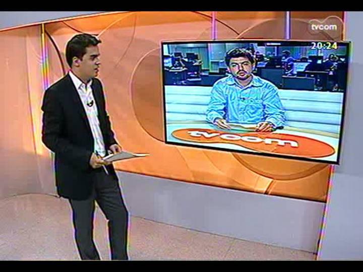 TVCOM 20 Horas - Pesquisa encomendada pelo Palácio Piratini - Bloco 3 - 18/04/2013