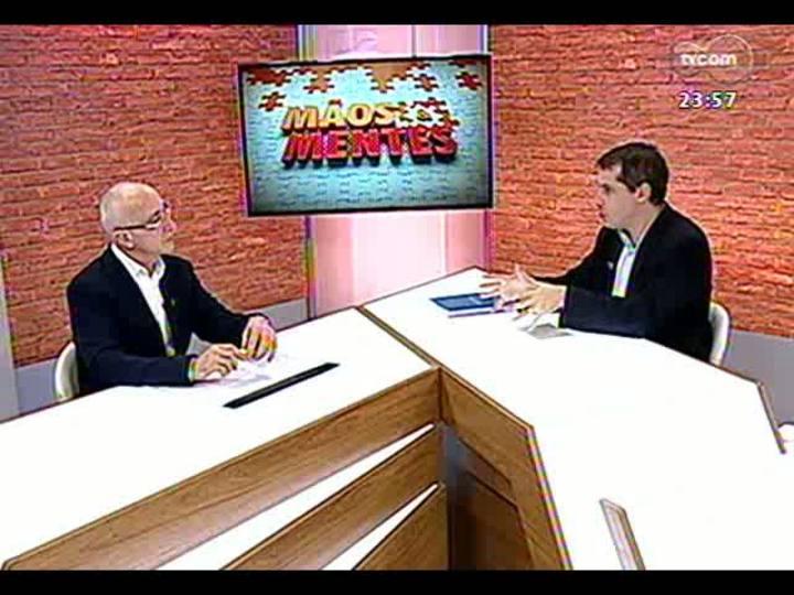 Mãos e Mentes - Superintendente cultural da Fundação Iberê Camargo, Fábio Coutinho - Bloco 3 - 01/07/2013