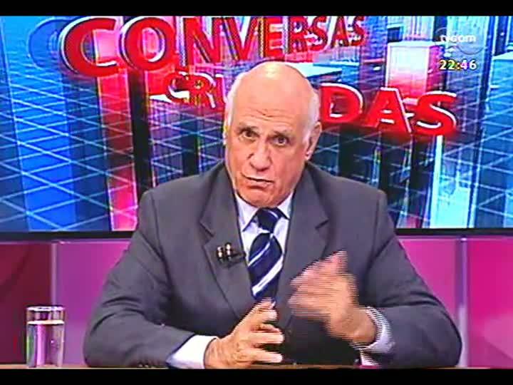 Conversas Cruzadas - Prefeito José Fortunati avalia protestos e fala sobre transporte público, médicos e outros temas - Bloco 3 - 18/07/2013