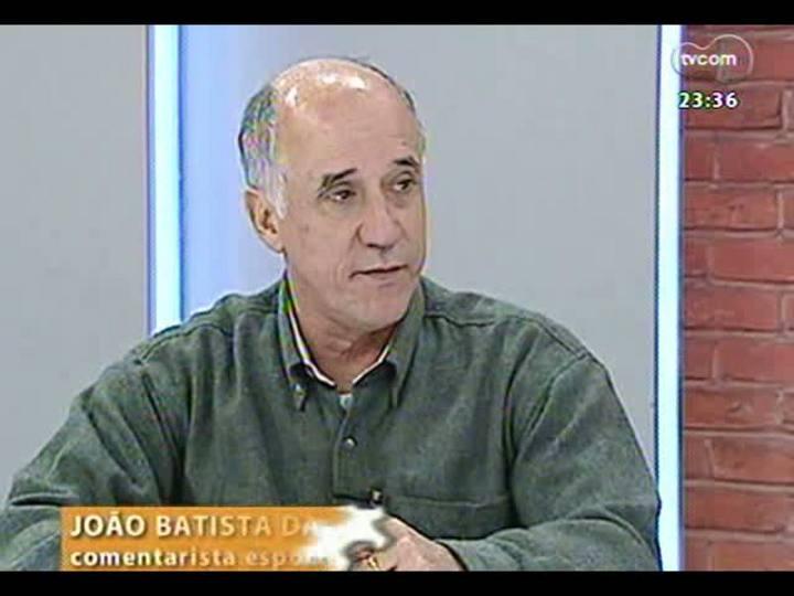 Mãos e Mentes - Ex-jogador da dupla Gre-Nal e da Seleção Brasileira, Batista - Bloco 1 - 07/08/2013