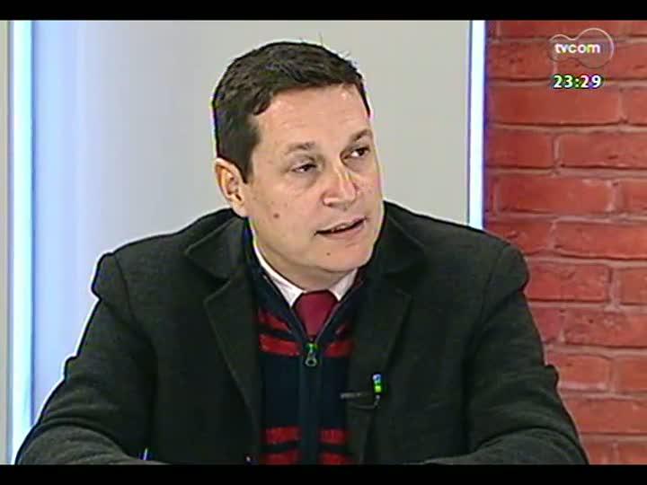 Mãos e Mentes - Coordenador executivo do Comitê Gestor da Copa no Estado, Maurício Nunes - Bloco 2 - 28/08/2013
