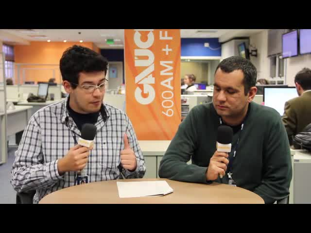 Raphael Gomes e Carlos Guimarães falam sobre a rodada na Liga dos Campeões - 18/09/2013