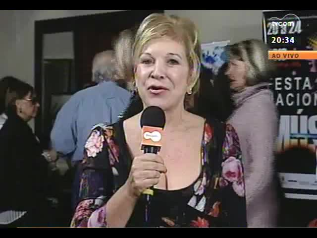 TVCOM Tudo Mais - Entrevista com a ministra Marta Suplicy direto da Festa Nacional da Música