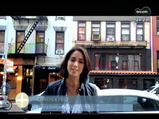 TVCOM Tudo Mais - TVCOM 360: Candice Feio visita uma loja de vinil com clássicos das décadas passadas