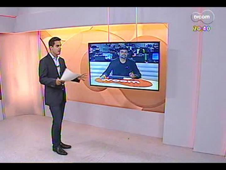 TVCOM 20 Horas - Informações sobre a recém inaugurada Rodovia do Parque - Bloco 3 - 20/12/2013