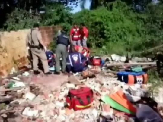 Polícia encontra três mortos em terreno do bairro Jardim Paraíso em Joinville