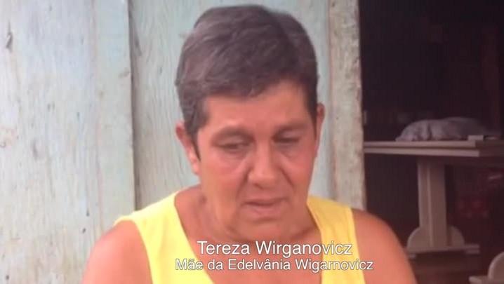 Mãe de assistente social confirma que filha deixou pá e cavadeira em sua casa. 18/04/2014