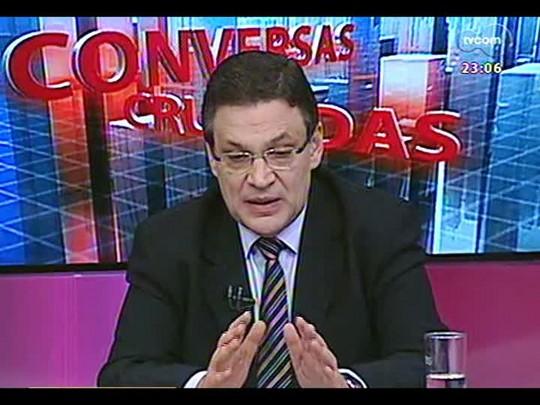 Conversas Cruzadas - Debate sobre o afastamento do presidente do STF, o ministro Joaquim Barbosa - Bloco 3 - 29/05/2014