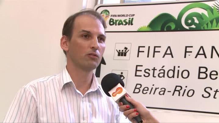 Foram instaladas 212 placas temporárias em POA para a Copa do Mundo