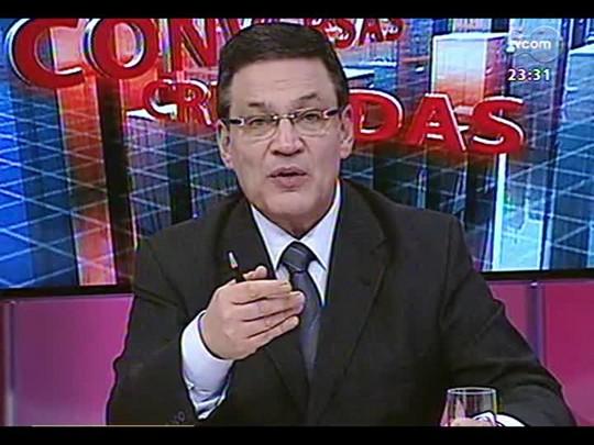 Conversas Cruzadas - O fracasso da Seleção pode ser explicado pela falta de gestão no futebol brasileiro? - Bloco 3 - 09/07/2014