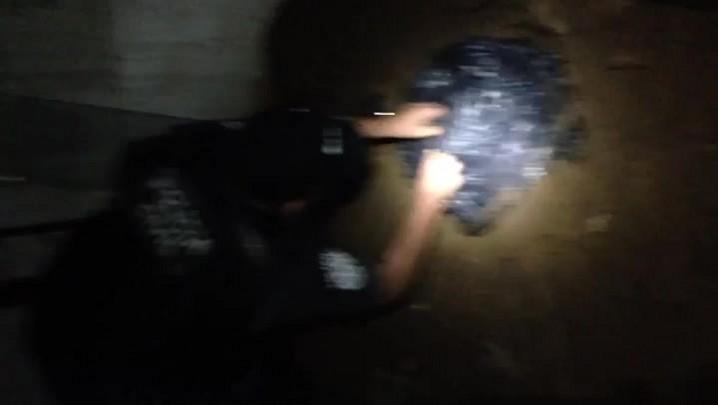 Polícia desenterra droga escondida em revenda de carros na Capital