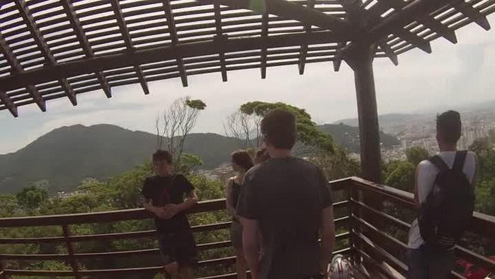 Vista do mirante do Parque da Atalaia