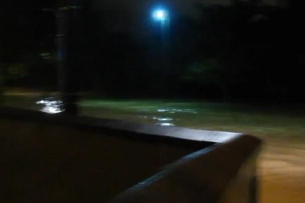 Chuva causa alagamentos em Joinville