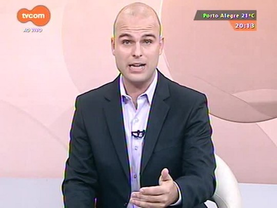 TVCOM 20 Horas - Fecomércio se manifesta sobre decisão do TJ sobre constitucionalidade do aumento de 16% do piso regional - 23/03/2015