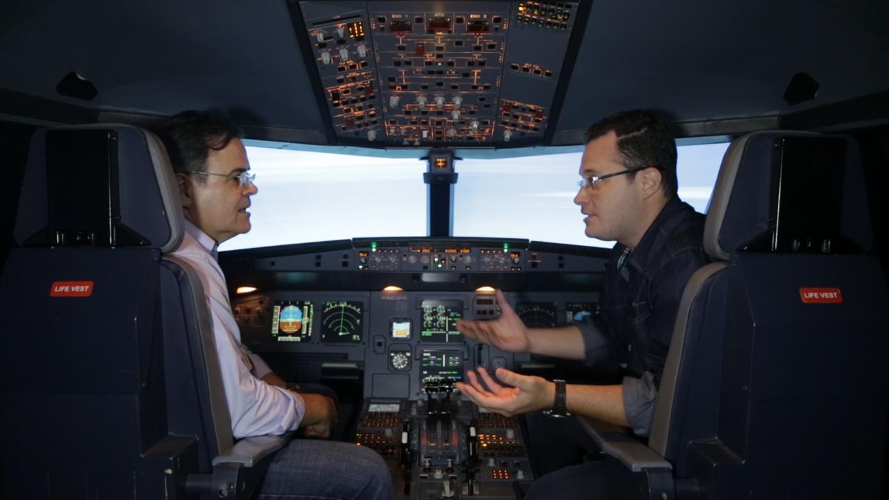 Como funciona a cabine de um Airbus