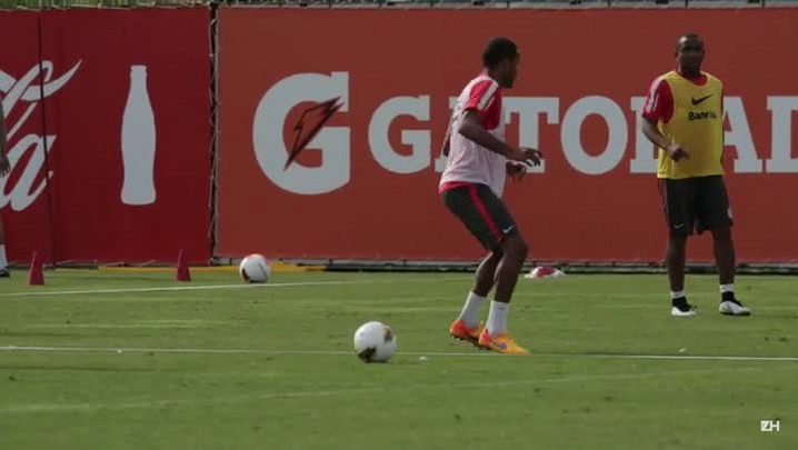 Treino do Inter antes do Gre-Nal 406