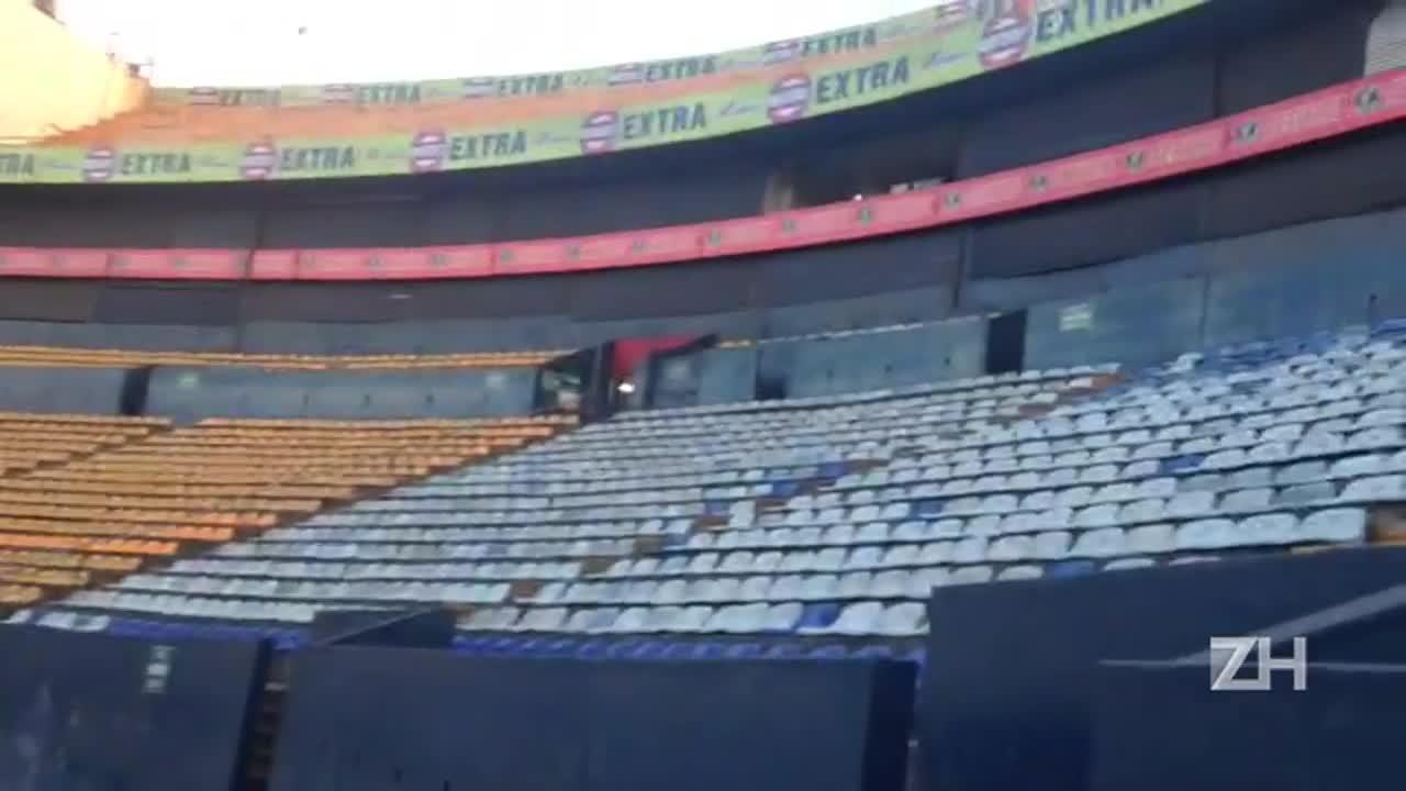 Estádio Universitário, palco da decisão Tigres-MEX x Inter