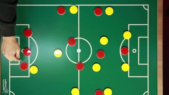 Desenho Tático: Inter foi sufocado por marcação que matou o início de suas jogadas