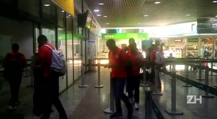 Inter embarca para São Paulo