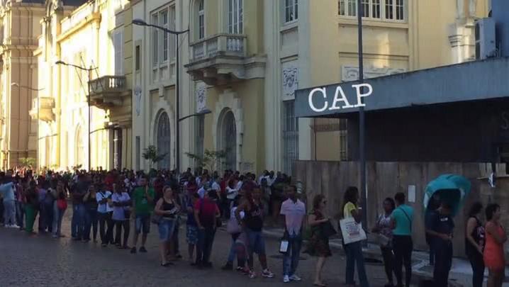 Trabalhadores saem do interior em busca de emprego na Capital