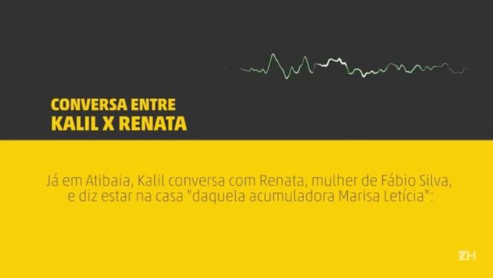 Grampo: Kalil e Renata