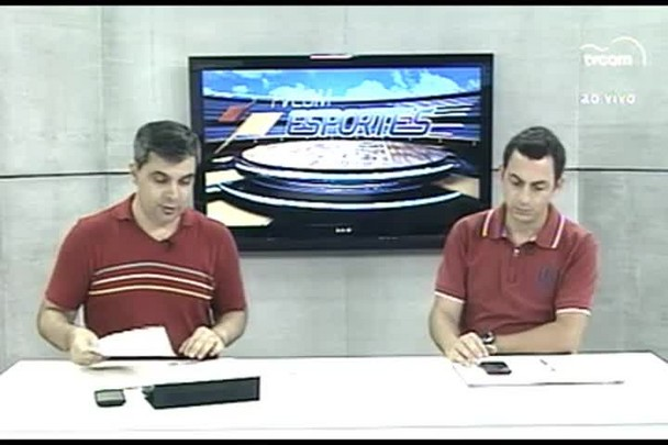TVCOM Esportes. 2º Bloco. 23.03.16