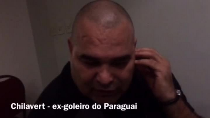 Chilavert concede entrevista à Rádio Gaúcha