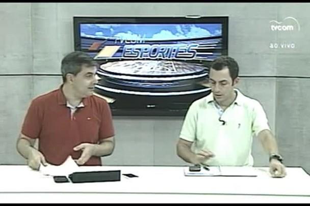 TVCOM Esportes. 1º Bloco. 31.03.16